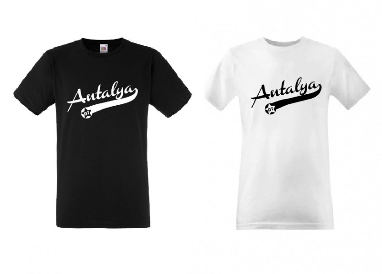 T Shirt Antalya 07 Türkiye Fenerbahce Galatasaray Besiktas Atatürk
